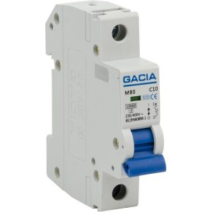Gacia 4021163002 Automatsäkring 1-pol, 10kA 10A