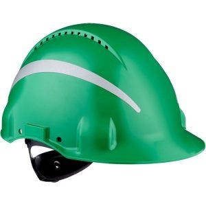 3M G3000 Skyddshjälm med reflexer Grön