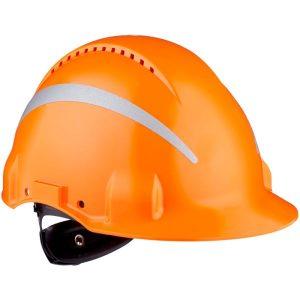 3M G3000 Skyddshjälm med reflexer Orange