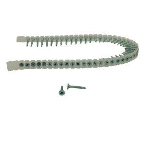 Aerfast 39N55MC Gipsskruv 3,9 x 55 mm, rakbandad, EFZ, 1000-pack