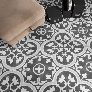 Arte black Klinker Svart 24.7x24.7 cm