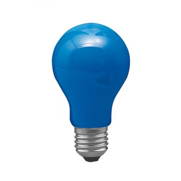 E27 40W Glödlampa AGL, blå