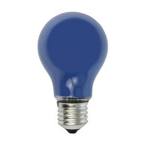 E27 40W blå glödlampa för ljuskedja