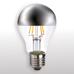 E27 4W 827 LED-glödlampa med förspegling