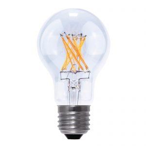 E27 6,5 W 826 LED-glödlampa koltrådsutseende klar