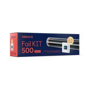 Kompletteringssats Golvvärmefolie Ebeco Foil Kit 500 10 m2 för Trä- och Laminatgolv 43 cm