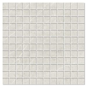 Marmor Mosaik Klinker Altamura Ljusgrå Matt 30x30 (2.5x2.5) cm