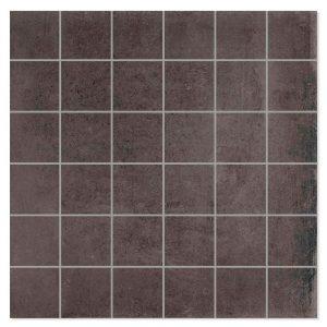 Mosaik Klinker Temper Svart 30x30 (5x5) cm