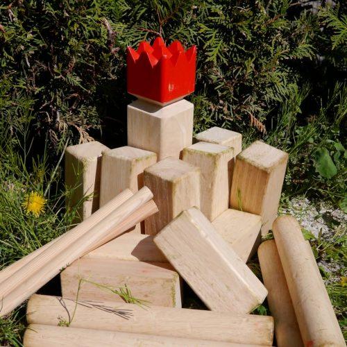 Hur Man Bygger Sitt Egna Kubb Spel