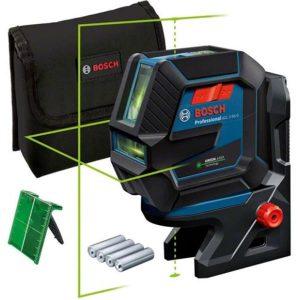 Bosch GCL 2-50/RM10 Kombilaser grön, med batterier