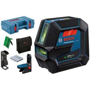 Bosch GCL 2-50/RM10 Kombilaser grön, med väska och batterier